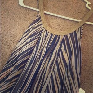 Dresses & Skirts - Striped maxi dress - still has the tag attached!